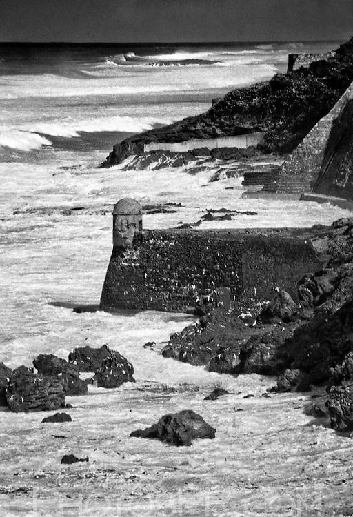 """The """"Devil's Sentry Box,"""" Fort San Cristobal"""