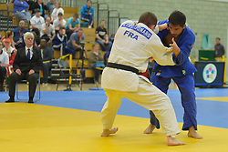 Cyril Jonard, -81kg, FRA, Jose David Effron, ARG, 2016 Visually Impaired Judo Grandprix, British Judo, Birmingham, England