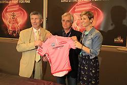 Napoli, Italy - Giro d'Italia - May 4, 2013 - Presentation of Maglia Rosa