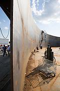 Bus tour for Plains All American Pipeline, LP facility near St. James, Louisiana