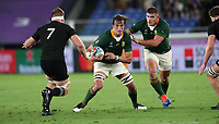 Rugby Union - 2019 Rugby World Cup - Pool B: New Zealand vs. South Africa<br /> <br /> Franco Mostert of South Africa at the International Stadium Yokohama, Yokohama City.<br /> <br /> COLORSPORT/LYNNE CAMERON