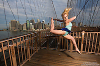 Dance As Art- The New York City Dance Photography Project- Brooklyn Bridge with Dancer Taylor Gerrasch