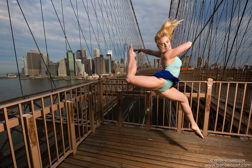 Dance As Art- The New York City Dance Photography Project- Brooklyn Bridge with Dancer Taylor Gerrasch