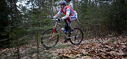02-03-2013 ALGEMEEN: WE BIKE 2 CHANGE DIABETES: SOEST<br /> Bij Sportmaster in Soest was de eerste Training voor de 15 deelnemers aan de Trans Norway Challenge / Nathalie<br /> ©2013-FotoHoogendoorn.nl
