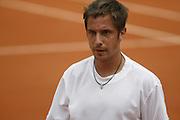 Roland Garros. Paris, France. May 25th 2008..Denis GREMELMAYR against Novak DJOKOVIC....