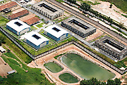 Ribeirao das Neves_MG, Brasil...Vista aerea da penitenciaria Dutra Ladeira em Ribeirao das Neves...The aereal view of the prison Dutra Ladeira at Ribeirao das Neves...Foto: BRUNO MAGALHAES /  NITRO