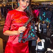 NLD/Amsterdam/20130905 - Lancering lingerielijn Pretty Wild, Firouze Akhbari