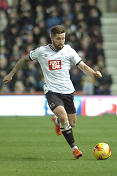 Jacob Butterfield Derby County,  Derby County v Brighton &Hove Albion, IPro Stadium, Sky Bet Championship,  Saturday 12th December 2015