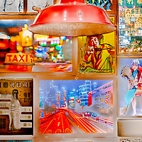 A tribute to Hong Kong. Shot in a Chinese restaurant inn Hanoi, Vietnam