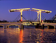 Magere Bridge, Amsterdam, Netherlands