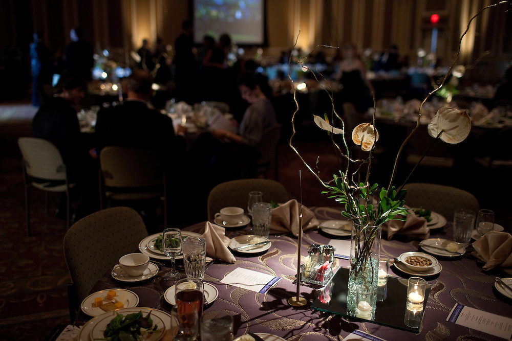 The Ohio University Alumni Awards Gala was located in the Baker University Center on Friday, October 12, 2012..Photo by Chris Franz