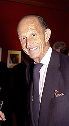 MR DAVID METCALFE at an exhibition in London <br /> on 2nd May 2000. ODF 6