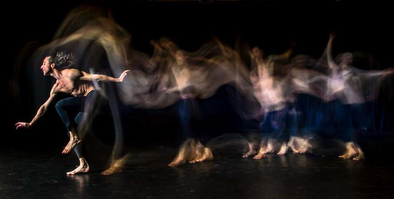 Department of Dance Light Painting Studio Shoot