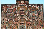 MEXICO, EDUCATION, UNAM National University library mosaic