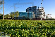 EU parliament, Strasbourg, Alsace, France