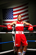 6/24/11 2:32:54 PM -- Colorado Springs, CO. -- A portrait of U.S. Olympic lightweight boxer Queen Underwood, 27, of Seattle, Wash. who will be competing for her fifth title. She began boxing in 2003 and was the 2009 Continental Champion and the 2010 USA Boxing National Champion. She is considered a likely favorite to medal at the 2012 Summer Olympics in London as women's boxing makes its debut as an Olympic sport. -- ...Photo by Marc Piscotty, Freelance.