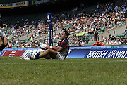 Twickenham, England.  USA Salesi SIKA, during the Churchill Cup game, Canada vs USA, at Twickenham Stadium  02/06/2007 [Mandatory Credit Peter Spurrier/ Intersport Images]