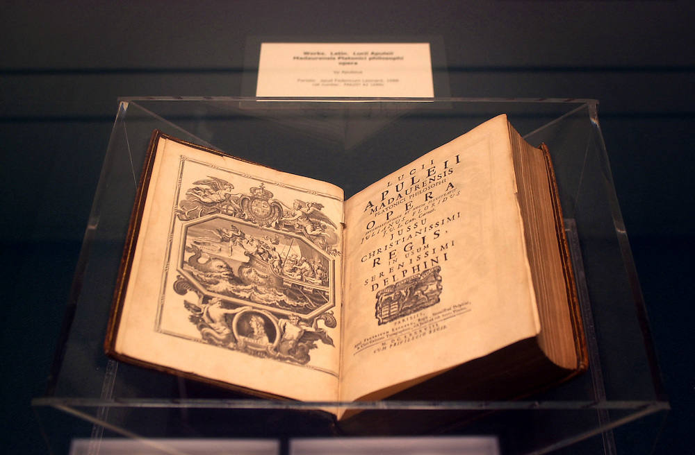 15780       Midevil Books Exhibition in Alden Archives