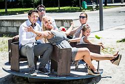 Wedding of Brigita and Kristian, on June 29, 2016 in Ljubljana, Slovenia. Photo by Vid Ponikvar / Sportida