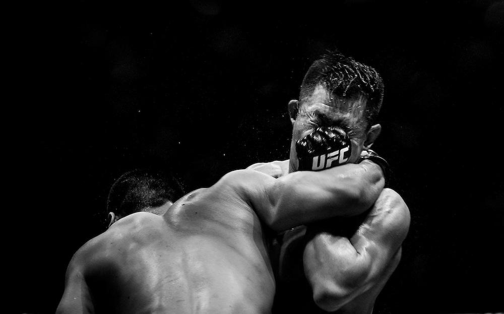 UFC Fight Night Macao Kim vs. Hathaway at Venetian Macau on 27 February 2014 in Macau, China. Photo by Xaume Olleros