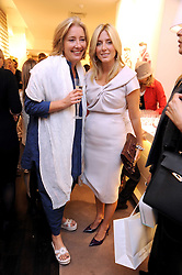 Left to right, EMMA THOMPSON and PRINCESS MARIE-CHANTAL OF GREECE  at a party to celebrate the opening of Pincess Marie-Chantal of Greece's store 'Marie-Chantal' 133A Sloane Street, London on 14th October 2008.