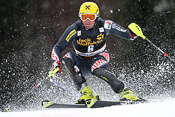 KOSTELIC Ivica  of Croatia during the 1st Run of Men's Slalom - Pokal Vitranc 2013 of FIS Alpine Ski World Cup 2012/2013, on March 10, 2013 in Vitranc, Kranjska Gora, Slovenia.  (Photo By Vid Ponikvar / Sportida.com)