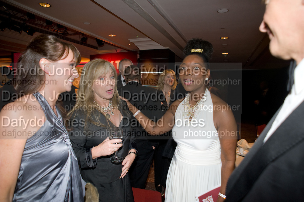 Helen Lederer; Floella Benjamin, The Costa Book of the Year Award at the Costa Book Awards. The Intercontinental Hotel, Hamilton Place. London. 27 January 2009 *** Local Caption *** -DO NOT ARCHIVE -Copyright Photograph by Dafydd Jones. 248 Clapham Rd. London SW9 0PZ. Tel 0207 820 0771. www.dafjones.com<br /> Helen Lederer; Floella Benjamin, The Costa Book of the Year Award at the Costa Book Awards. The Intercontinental Hotel, Hamilton Place. London. 27 January 2009