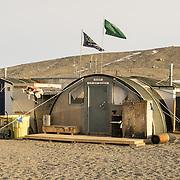 New Harbor Station Jamesway structures, Explorers Cove, Antarctica
