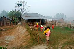 BANGLADESH SIRAJGANJ RADHUNIBARI 30JAN07 - Village school near the Jamuna river area, traditionally prone to flooding during the Monsoon season...jre/Photo by Jiri Rezac..© Jiri Rezac 2007..Contact: +44 (0) 7050 110 417.Mobile:  +44 (0) 7801 337 683.Office:  +44 (0) 20 8968 9635..Email:   jiri@jirirezac.com.Web:    www.jirirezac.com..© All images Jiri Rezac 2007 - All rights reserved.