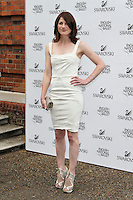 LONDON - JUNE 27: Jodie Whittaker attended the English National Ballet Summer Party, The Orangery, Kensington Palace, London, UK, June 27, 2012.(Photo by Richard Goldschmidt)