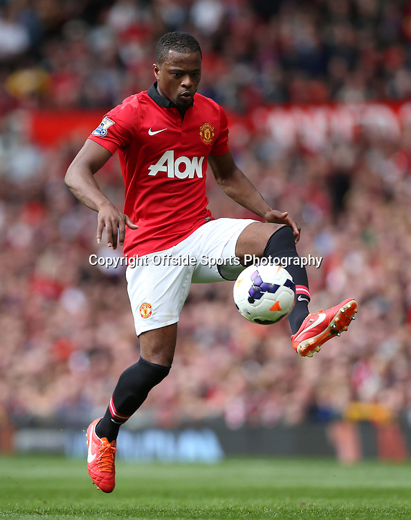 14th September 2013 - Barclays Premier League - Manchester United v Crystal Palace - Patrice Evra of Man Utd - Photo: Simon Stacpoole / Offside.