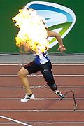 Gitte Haenen (Belgium) winning the Women's 100m Blades race during the IAAF Diamond League event at the King Baudouin Stadium, Brussels, Belgium on 6 September 2019.