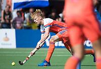 WAALWIJK -  RABO SUPER SERIE . Joep de Mol (Ned)   tijdens  de hockeyinterland heren  Nederland-India (3-4),  ter voorbereiding van het EK,  dat vrijdag 18/8 begint.  COPYRIGHT KOEN SUYK