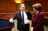 06 Jan 2015, Washington, DC, USA --- The Minnesota Senators Al Franken and Amy Klobuchar --- Image by © Owen Franken/Corbis