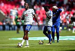 Michy Batshuayi of Chelsea - Mandatory by-line: Robbie Stephenson/JMP - 06/08/2017 - FOOTBALL - Wembley Stadium - London, England - Arsenal v Chelsea - FA Community Shield