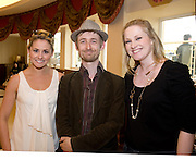 Aoiffe Madden WHPR Neil Hannon, The Duckworth Method and Julie Blakeney WHPR  at the Budweiser Ice Cold Summer BBQ, broadcast live on the Tony Fenton Show at The Galway Bay Hotel in Salthill. Photo:Andrew Downes.. .Both Duke Special and The Divine Comedy performed at the summer kick-off party and Today FM's Tony Fenton Show broadcast live from the hotel all afternoon...The 150 invited guests included Today FM listeners ad Budweiser Ice Cold Facebook fans from all over the country. Guests also won the chance to win a cool Grand in cash, meet Mr. Iceman and of course enjoy a pint of Budweiser Ice Cold, the coldest pint ever!..Enjoy Budweiser Ice Cold sensibly visit www.drinkaware.ie ..This event was strictly over 18's,..-ENDS-..FOR FURTHER INFORMATION PLEASE CONTACT:.Killian Burns / Aoiffe Madden..Killian.burns@ogilvy.com / aoiffe.madden@ogilvy.com.WHPR..Tel: 01 6690030.