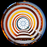 Manhattan - Fisheye Images - Guggenheim Museum, 5th Avenue/89th Street