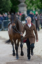 Taylor Izzy, (GBR), Thistledown Poposki<br /> First Horse Inspection - Mitsubishi Motors Badminton Horse Trials <br /> Badminton 2015