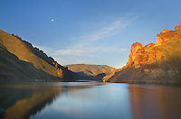 Owyhee Lake,  Leslie Gulch in the Owyhee Uplands of SE Oregon