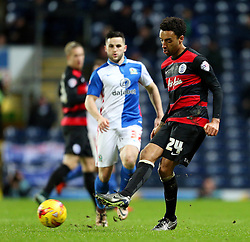 James Perch of Queens Park Rangers in action - Mandatory byline: Matt McNulty/JMP - 12/01/2016 - FOOTBALL - Ewood Park - Blackburn, England - Blackburn Rovers v QPR - SkyBet Championship