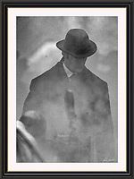 RUPERT EVERETT SHERLOCK HOLMES  Wobourn Walk London Sept 2004, A3 Museum-quality Archival signed Framed Print (Limited Edition of 25)
