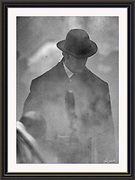 RUPERT EVERETT SHERLOCK HOLMES  Wobourn Walk London Sept 2004, A3 Museum-quality Archival signed Framed Print (Limited Edition of 25)
