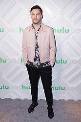 Nicholas Hoult at the 2019 Hulu Upfront in New York City.