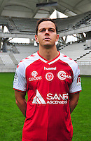 Mads Albaek - 21.10.2014 - Photo officielle Reims - Ligue 1 2014/2015<br /> Photo : Philippe Le Brech / Icon Sport
