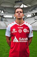 Mads Albaek - 21.10.2014 - Photo officielle Reims - Ligue 1 2014/2015<br /> Photo : Philippe Le Brech / Icon Sport