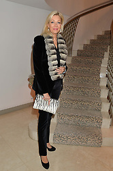 NADJA SWAROVSKI at the Fortune Forum Club dinner in the presence of HSH Prince Albert II of Monaco held at The Dorchester, Park Lane, London on 15th January 2014.