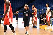 Stefano Pino Sacripanti<br /> Nazionale Italiana Maschile Senior<br /> Eurobasket 2017 - Group Phase<br /> Israele Italia Israel Italy<br /> FIP 2017<br /> Tel Aviv, 31/08/2017<br /> Foto M.Ceretti / Ciamillo - Castoria