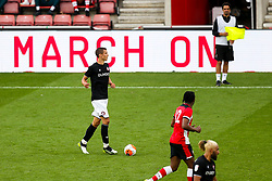 Filip Benkovic of Bristol City during a friendly match before the Premier League and Championship resume after the Covid-19 mid-season disruption - Rogan/JMP - 12/06/2020 - FOOTBALL - St Mary's Stadium, England - Southampton v Bristol City - Friendly.