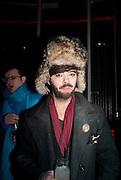 MARKUS MAVERICK, The launch screening of ÔAnimal CharmÕ  and ÔSusie LovittÕ - W hotel leicester sq. London. 31 January 2012.<br /> MARKUS MAVERICK, The launch screening of 'Animal Charm'  and 'Susie Lovitt' - W hotel leicester sq. London. 31 January 2012.