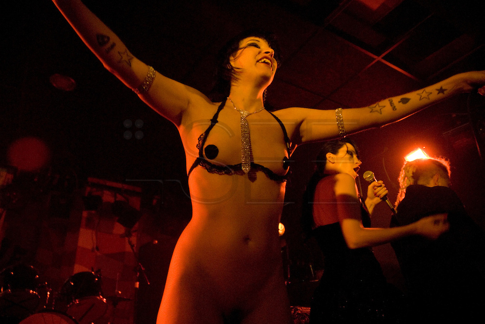 Dirty Princess are Yasmin and Nikky, a Spanish band that has a distinct electro-disco-punk sound and a really disturbing show on stage, where they mix a hot sexual performance with transgressive lyrics. It was founded by producers Big Toxic and Nikky Schiller. Pictures taken in New Garage Club in Murcia, Spain.